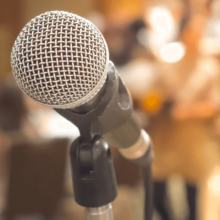 Research Shows Tapping Helps to Ease Your Fears of Public Speaking