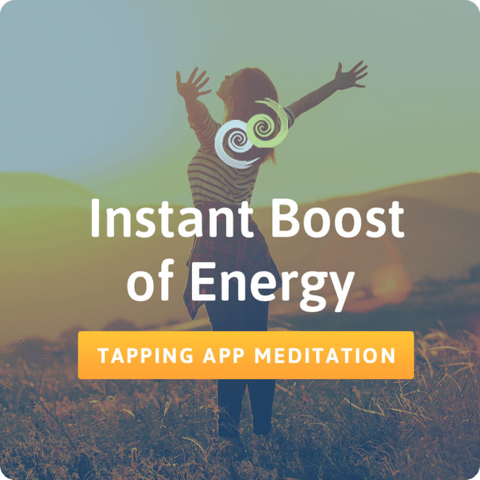 Instant Boost of Energy – The Tapping Solution App
