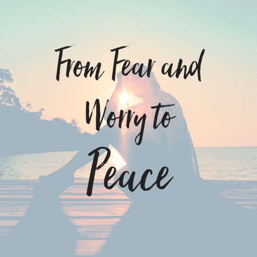 From Fear and Worry to Peace – The Tapping Solution App