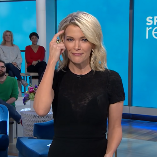 Tapping on the TODAY Show with Megyn Kelly